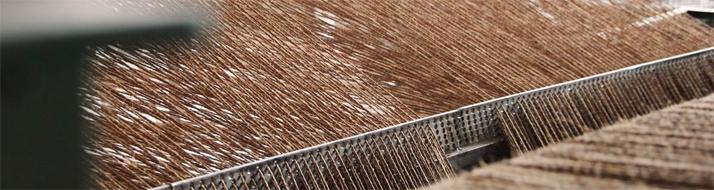 天然素材のカーペット