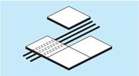配線収納の図