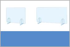 飛沫防止透明板