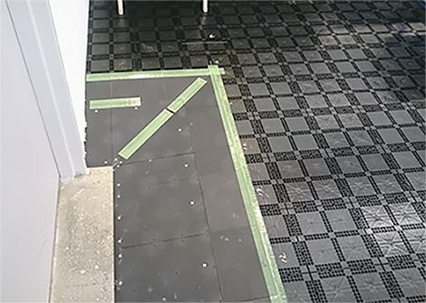 高配線量に対応したOAフロア工事