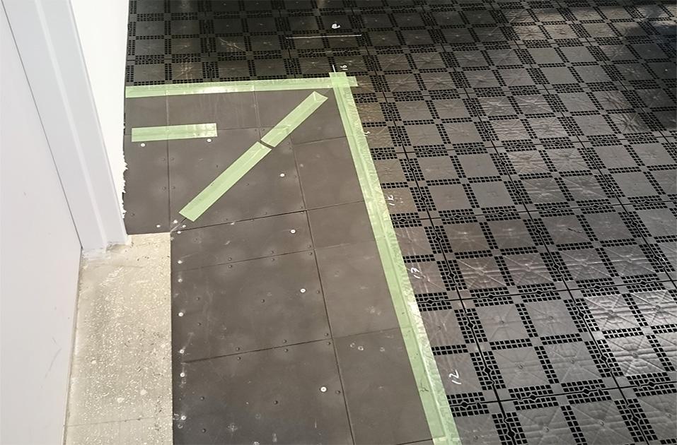 改修工事に伴うOAフロア工事