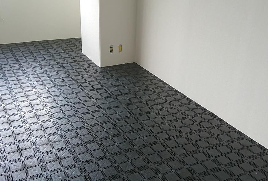 新規入居のOAフロア工事の施工例
