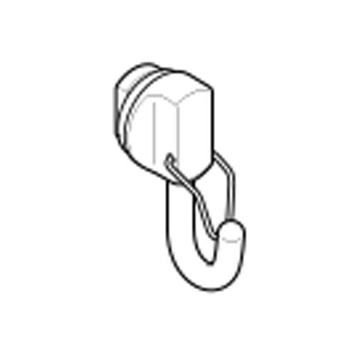 toso-picturerail-option-cap-t-tc-hook-30H-silver-single