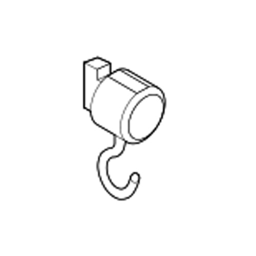 toso-picturerail-option-cap-t-hook-30b-white-single